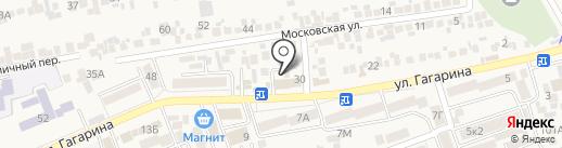Plaza на карте Ессентукской
