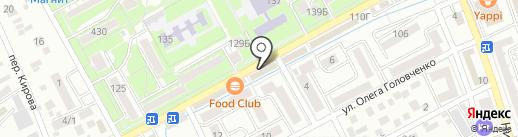 Шарли на карте Ессентуков