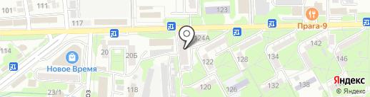 Юг-Сервис на карте Ессентуков