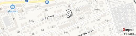 Содружество на карте Ессентукской