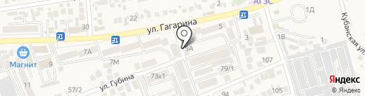 Поляна на карте Ессентукской