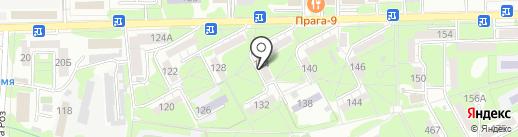 Почтовое отделение №25 на карте Ессентуков
