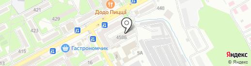 Компания на карте Ессентуков