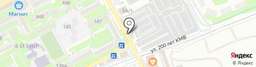 Хайям на карте Ессентуков