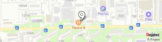 Прага 9 на карте Ессентуков
