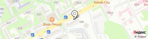Сбербанк, ПАО на карте Ессентуков