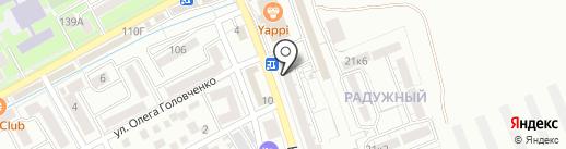 Строящиеся объекты на карте Ессентуков