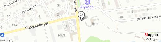 АВТОСТОП на карте Ессентуков