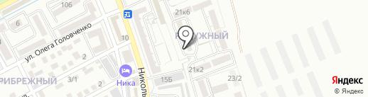 Радужный на карте Ессентуков