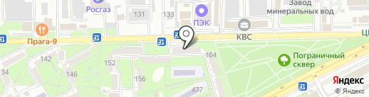 Ния на карте Ессентуков