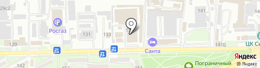 Микки на карте Ессентуков