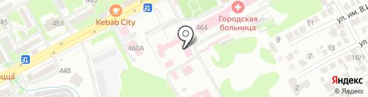 Женская консультация на карте Ессентуков