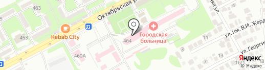 Бюро судебно-медицинской экспертизы на карте Ессентуков