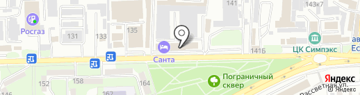 Лолита на карте Ессентуков