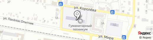 РУДН на карте Ессентуков