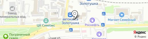 ЭМСИПИ-Медикейр на карте Ессентуков