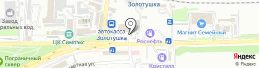 Церковь святого Иоанна Предтечи на карте Ессентуков