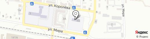 Детский сад №43, Золотой петушок на карте Ессентуков