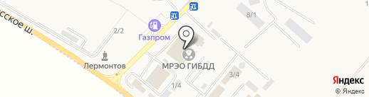 Госномер26 на карте Лермонтова