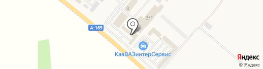 Магазин автозапчастей на китайские грузовые автомобили на карте Лермонтова