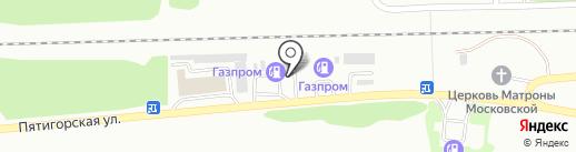 Магистраль-АВТО на карте Ессентуков