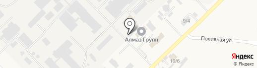 ГМЗ на карте Лермонтова