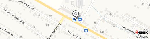 Старый амбар на карте Винсад
