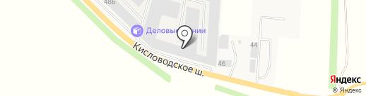 Деловые Линии на карте Пятигорска
