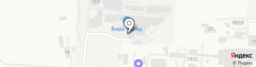 Бора-мебель на карте Лермонтова