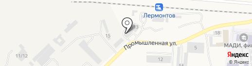 МСВ Юг на карте Лермонтова