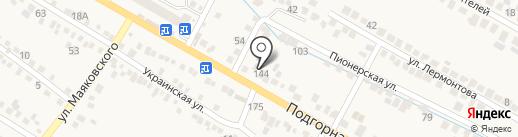 Шиномонтажная мастерская на карте Винсад
