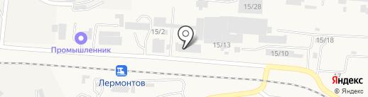 МСК-Юг на карте Лермонтова