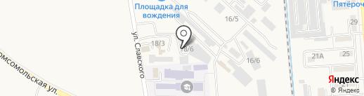 Магазин систем отопления и водоснабжения на карте Лермонтова