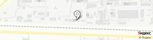 Строитель-КМВ на карте Пятигорска
