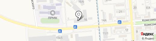 ТД Арсенал на карте Лермонтова