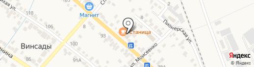 ТАМАДА на карте Винсад