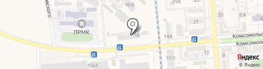 Арсенал на карте Лермонтова
