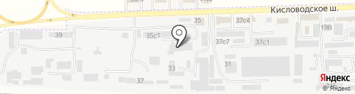 РусВентKом на карте Пятигорска