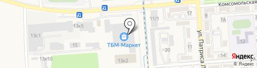 Полипак на карте Лермонтова