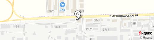 СтолСити на карте Пятигорска