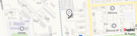 Аварийно-спасательная служба г. Лермонтова на карте Лермонтова