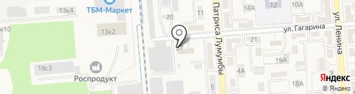 Отделение ГИБДД на карте Лермонтова