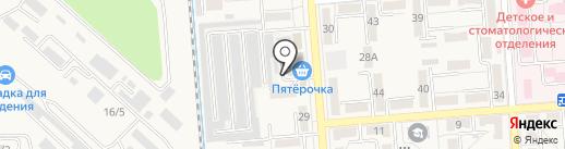 Магазин автозапчастей на карте Лермонтова