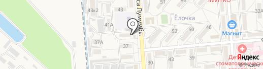 Оазис на карте Лермонтова