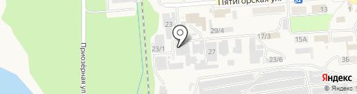 Мария на карте Лермонтова