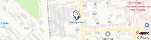 Кавказская мемориальная компания на карте Лермонтова