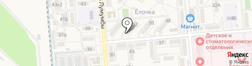 Дом стоматологии на карте Лермонтова