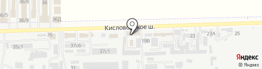 Мэдисон на карте Пятигорска