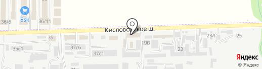 Иваныч на карте Пятигорска
