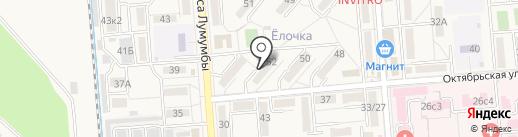 НТВ-КМВ на карте Лермонтова